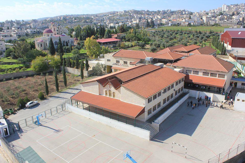 مبنى المدرسة