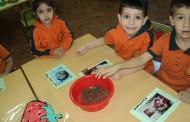 نشاط عمل برواز لموضوع الاسرة مع أطفال صف البستان أ+ب مس مي ومس مها