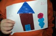 نشاط لرقم (5) مع مس أمل + نشاط قص وتلصيق أشكال هندسية وعمل شكل دار مع مس سمر مع أطفال صف التمهيدي أ+ب+ج