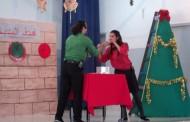 حفلة مسرح الحارة وتوزيع الهدايا على الاطفال